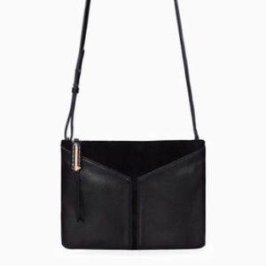Stella & Dot COVET leather crossbody bag